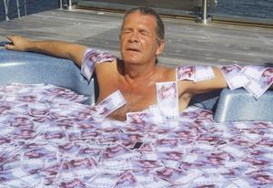 2011 badade Stig Svedberg i pengar i tv-serien