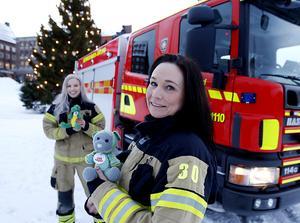 Linnea Ingmar från Sundsvall och Ilona Lindqvist från Frösön jobbar bägge inom Räddningstjänsten. I deras jobb har de sett barn som farit illa. Nu har de startat en stiftelse för att hjälpa utsatta barn.