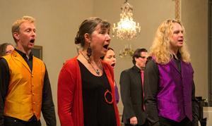 Hösten 2018 firade Roslagens vokalensemble tio år i Rådmansö kyrka.