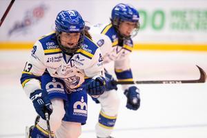 Hanna Sköld har gjort två mål för Leksand i årets säsong. Foto: Daniel Eriksson/Bildbyrån.