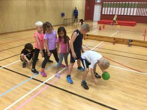 Runt 140 barn är aktiva i Estuna IF. Foto: Estuna IF.