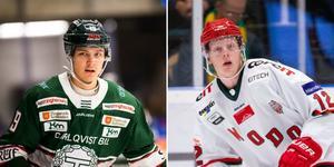 Gustav Olhaver och Fredrik Olofsson blev målskyttar för sina respektive lag senast. Foto: Bildbyrån
