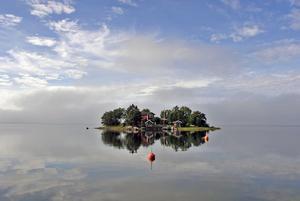 Egen ö i Stockholms skärgård.