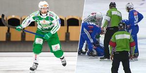 Martin Landström stängs av i två matcher. Bild: Emelie Nyström / Bandyplay