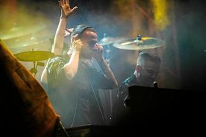 DJ-duon Galantis med Linus Eklöw från Sundsvall bjöd upp till dans på Sensommar. Foto: Viktor Sjödin