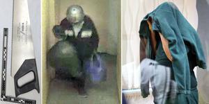 Bilder ur polisens förundersökning. Arkivbild från rättegång.