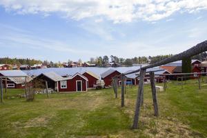 Mycket från det gamla fiskeläget finns bevarat i Skärså.