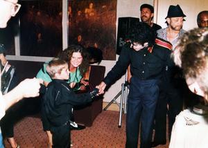 Michael Jackson i en scen från dokumentären