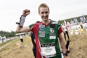 Olav Lundanes vann första etappen under söndagen.