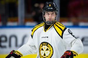 Victor Söderström har varit ordinarie i Brynäs sedan i höstas – och han är fortfarande bara 17 år ung.
