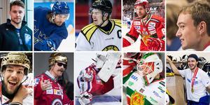 Tio spelare porträtterade av SHL:s 40 bästa värvningar, enligt Hockeypuls redaktör Andreas Hanson.
