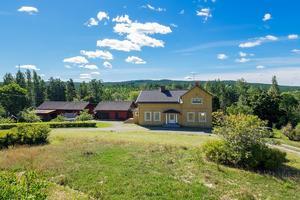 En niorumsvilla i Kniva, Falu kommun, var det femte mest klickade huset i Dalarna på Hemnet under förra veckan. Foto: Mikael Tegnér