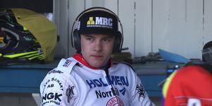 Robert Lambert blev bästa poängplockare i Rospiggarna med 14+1 poäng på sex heat.