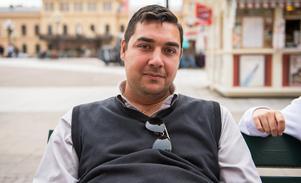 Leif Grönfors, 27, studerande, Nacksta: