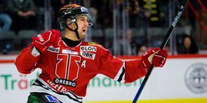 Rasmus Rissanen blev oerhört glad över att få näta i lördagens match mot Skellefteå AIK.