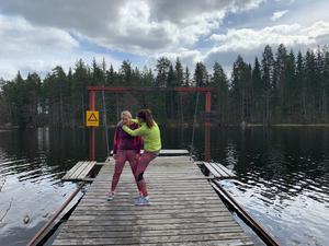 Foto: Sofia Stolpe Tramset är ett måste i vår träningsritual. Det ska vara roligt, nästan jämt, tycker vi. Och så är det ju sant som det är sagt: en får det så roligt som en gör sig.