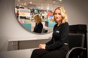 Sofia Bäckström, butikschef.