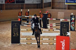 Linnea Grufman och Wirnanda vann den enda nationella klassen vid helgens tävlingar och säkrade en JSM-start.