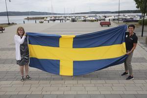 Nu laddar Barbro Forsberg Nystedt och Veronica Lindgren för en ny fantastisk fotbollsfest i Ludvika – och förhoppningsvis vinner damerna matchen, något som herrarna misslyckades med i fjol.