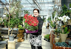 Gabriella Kjellberg, floristlärare.