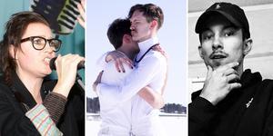 Några av de nominerade till årets Local Heroes på Grand Hotel i Gävle.