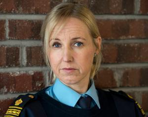 Eva Jagebo-Bonnerud, chef för utredningssektionen i polisområde Västernorrland.
