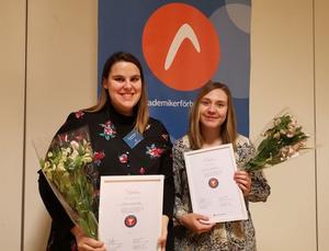 Jovana Nordström och Linnea Björkqvist. Bild: Anne Redforsen