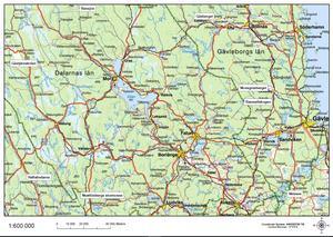 Karta över de områden som är planerade för naturvårdsbränning 2019-2020. Rensjön, Gårberget, Gåstjärnskölen, Mossgräsberget, Ramsellskogen, Haftahedarna, Skattlösberg stormosse och Skissen. Bild: Länsstyrelsen