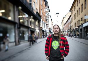 Per Granberg, sångare i punkbandet Charta 77. Foto: Pontus Lundahl/TT