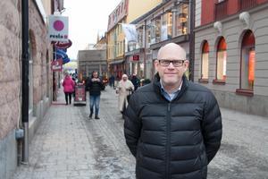 Lasse Westin börjar sitt nya arbete som centrumutvecklare i Falun i april.