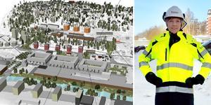 Planeringen av Sundsvalls nya stadsdel Alliero har gått in i nästa fas. Bild: Sundsvalls Kommun & Fredrik Söderberg