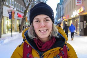 Britta Sterner, 22 år, Svenstavik: – Ja. Det blir det. Jag började en jägmästarutbildning i Umeå i höstas och den ger mig så mycket positiv energi.