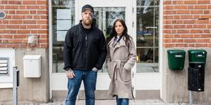 Leif Eriksson och Linda Norling på Kris Roslagen.