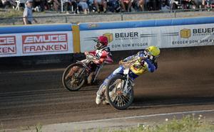 Kim Nilsson och Andzejs Lebedevs.
