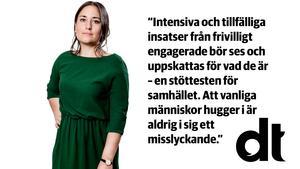 Krönikören Emma Høen Bustos är återkommande vikarie på DT:s ledarredaktion.