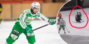 Joel Engström kolliderade våldsamt med målvakten Henrik Kjellsson i Svenska Cupen och Engström fick en hjärnskakning som visat sig vara värre än han först trodde.