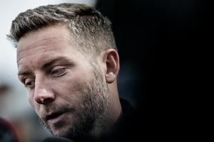 ÖSK:s tränare Axel Kjäll.