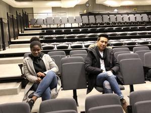 Awa och Majid.