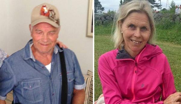 Lennart Andersson och Pia Behlander. Bilder: Privata