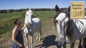 Zizou, den vita hästen, används i spelen och är hämtad från södra Frankrike.