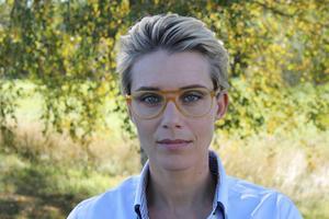 Jennie Marcusson driver projektet som Högland Invest vill genomföra på Ulvön. Bild: Ulf Backerholm
