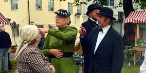 Under Säterstampen får besökarna följa med på en tidsreda 100 år bakåt i tiden.