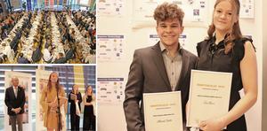 200 gäster, tal och prisutdelningar. Och så fick judosportarna Alexander Dahlin och Tove Hansen pris som bästa idrottare. Det var idrottsgala i Lindesberg Arena med Lindeskolans idrottscollege på onsdagskvällen.