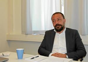 Christian Foster, förbundsdirektör för KSON, Kommunalförbundet sjukvård och omsorg i Norrtälje.