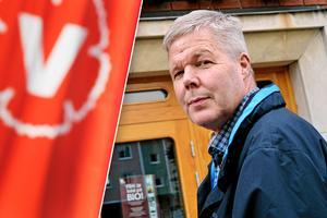 Leif Lindström kan komma att uteslutas ur partiet. Foto: Anna Karin Drugge/ Jerry Bordin