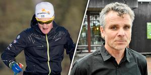 Jens Burman gav inte mycket för Anders Blomquists kritik mot de svenska herrarna. Bild: TT/Nisse Schmidt