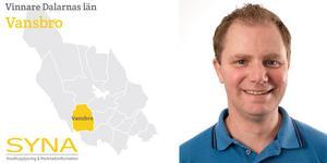 För andra året i rad har Vansbro kommun fått utmärkelsen Bästa tillväxt i Dalarna