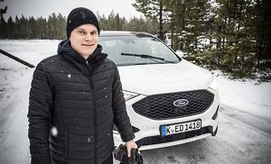 Filip Karlsson, är fordonsinstruktör från Östersund med ett förflutet i rallyskogen.