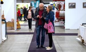 Peter och Gun-Kristin Höög var två av de drygt 4000 besökarna.