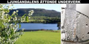 Ånges kranvatten utsågs nyligen till Ljungandalens åttonde underverk 2019 och tar därmed över stafettpinnen från ett annat blött besöksmål, Haverö strömmar.